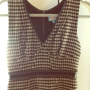 Tracy Reese Houndstooth Dress